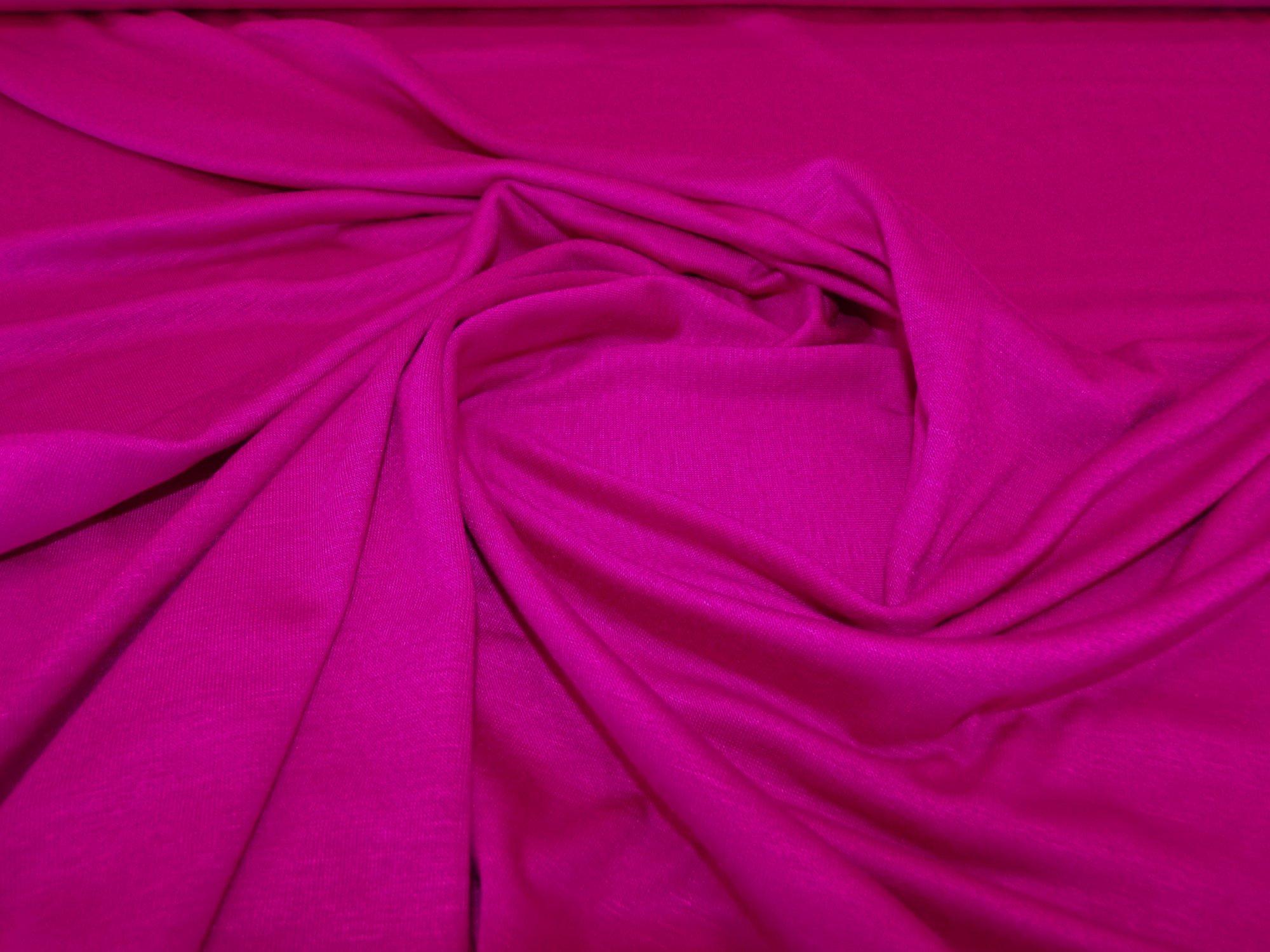 Rayon Lycra Jersey - Hot Pink