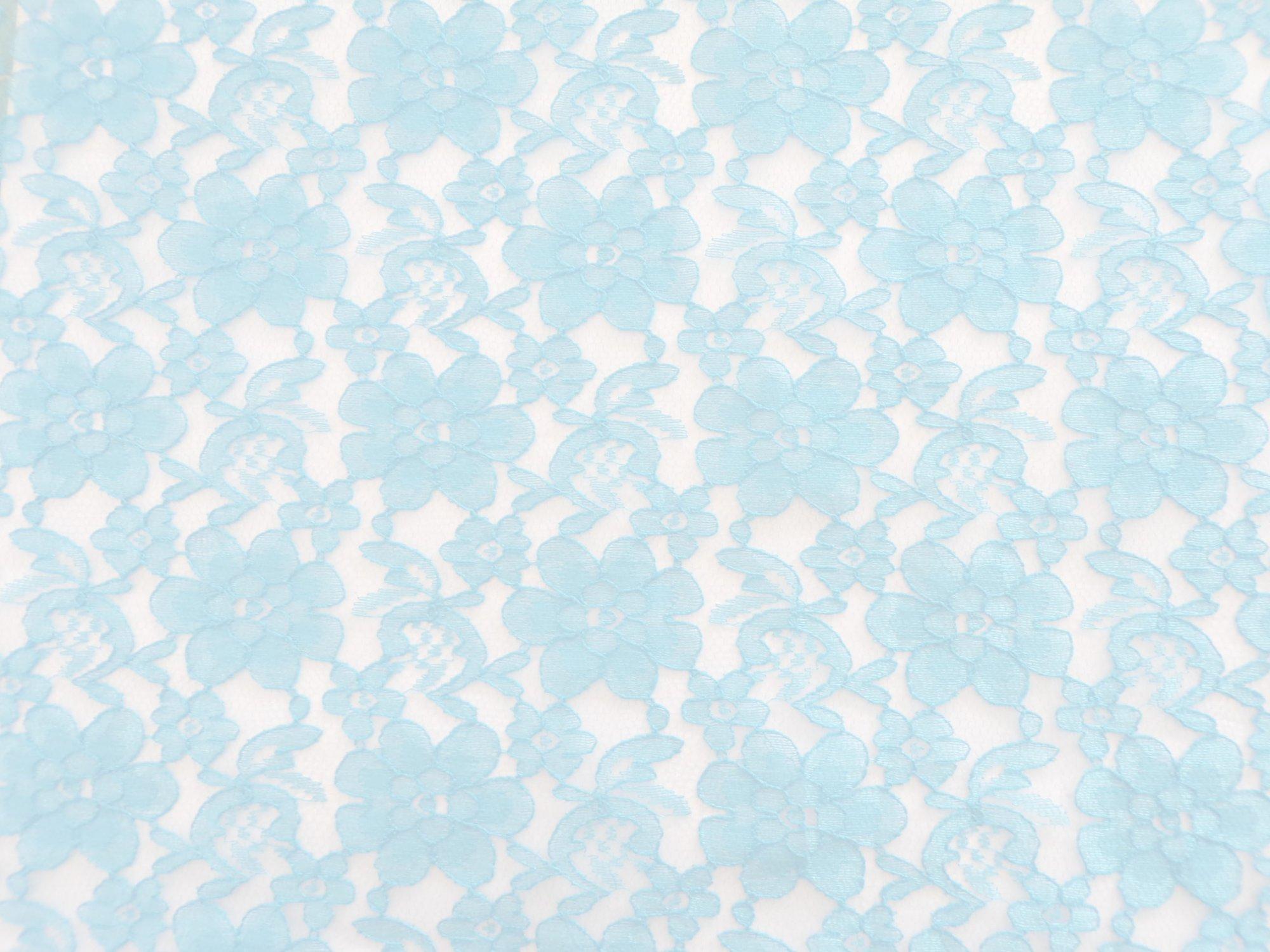 Raschel Lace - Light Blue