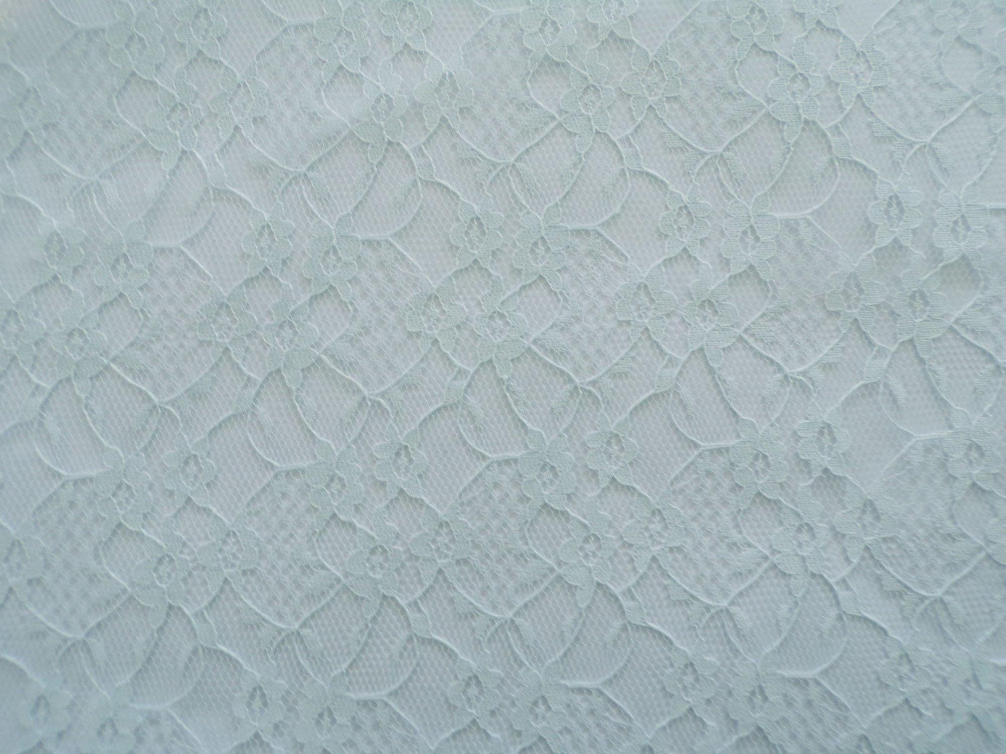 Raschel Lace - Pale Blue