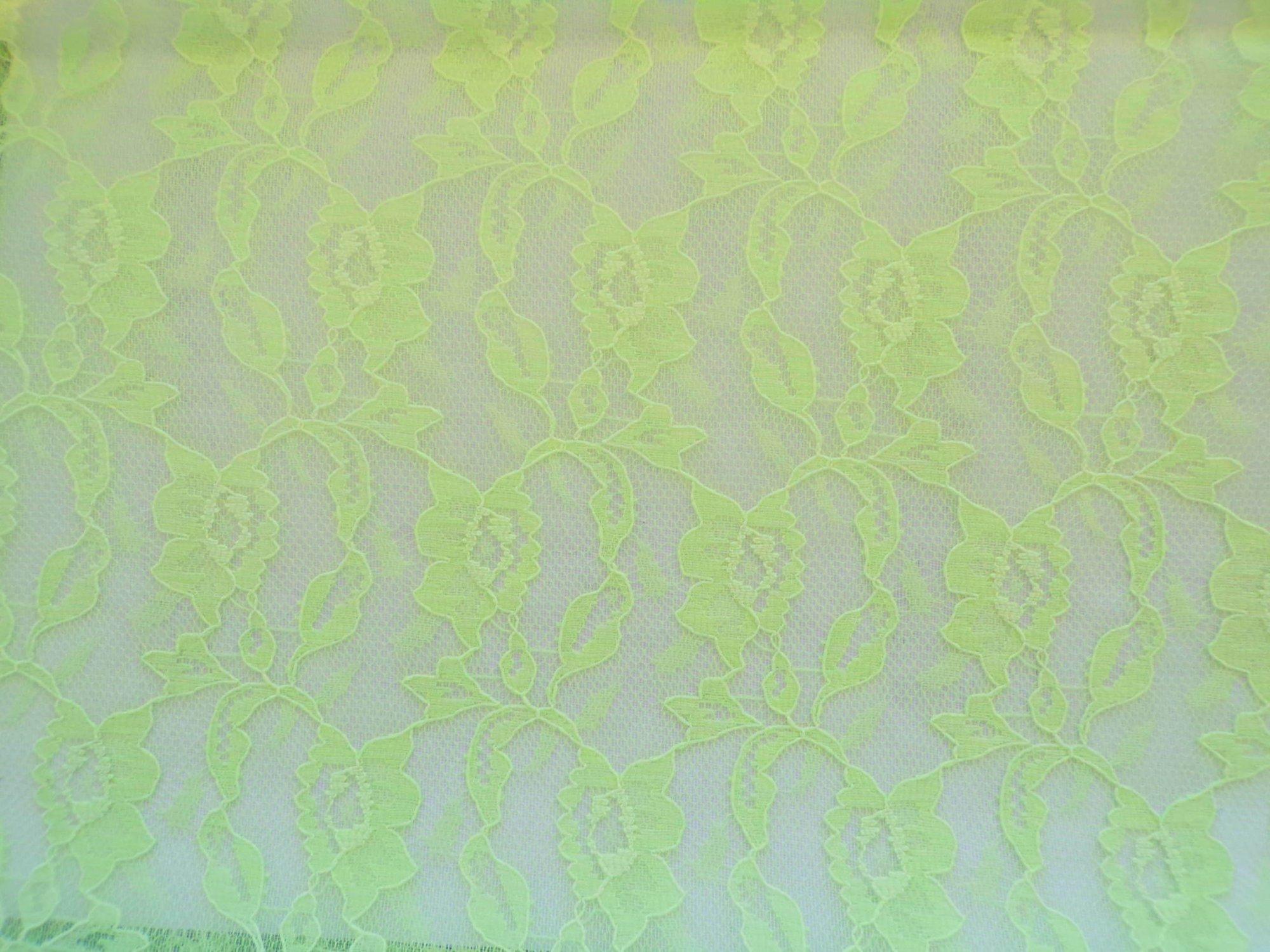 Marquette Lace - Lime