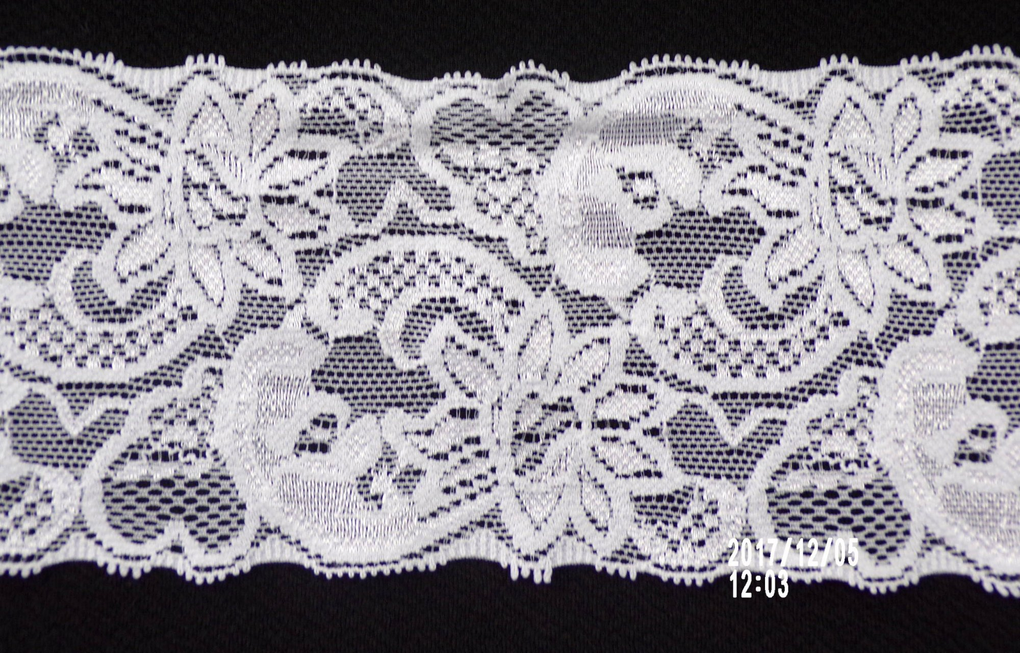 3in White galloon stretch lace (SL425)