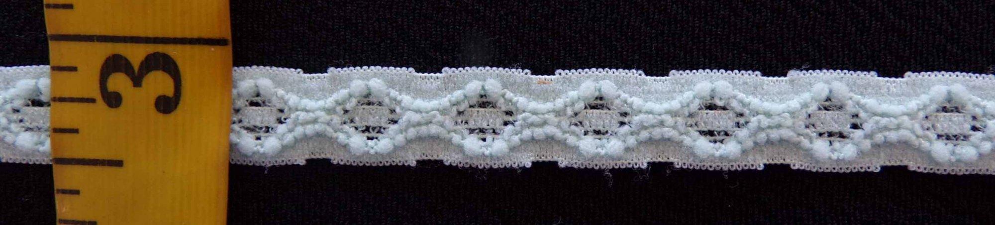 3/8 Mint Stretch Lace