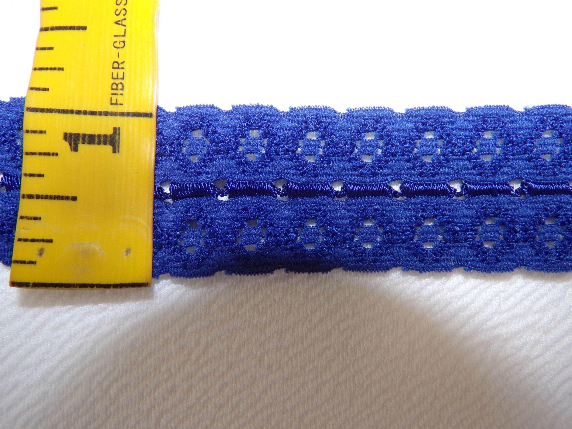 1 Dark Blue Stretch lace (SLDB102)