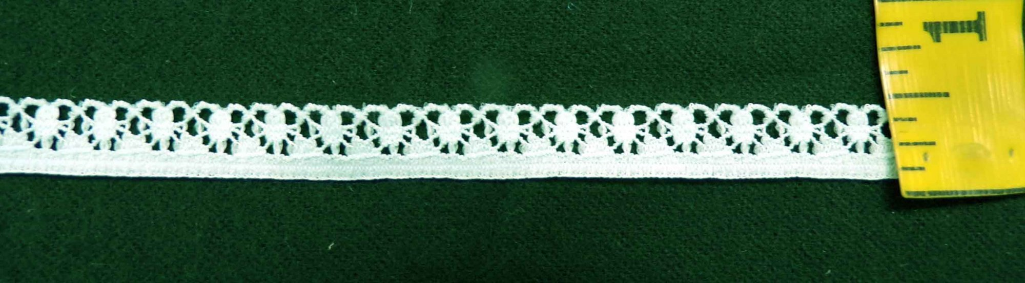 3/8 Mint Stretch Lace