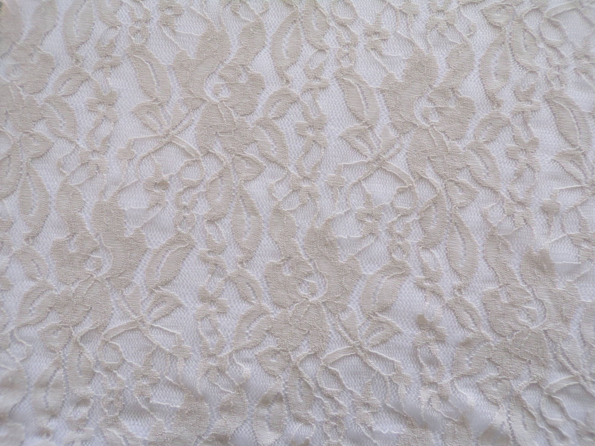 Stretch Lace - Taupe