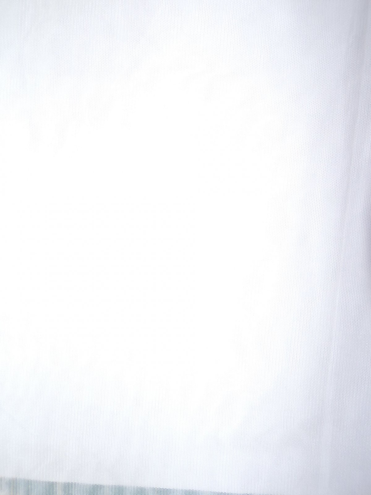 Stretch Mesh - White
