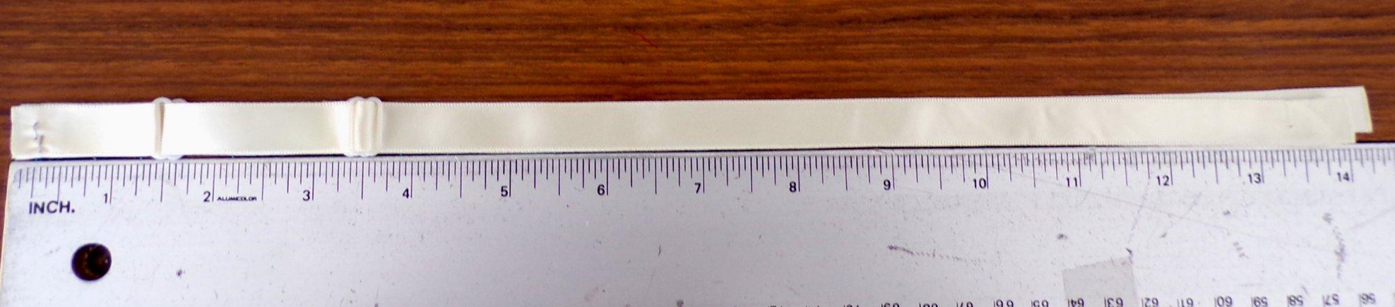 15 1/2 Slip Straps - Ivory