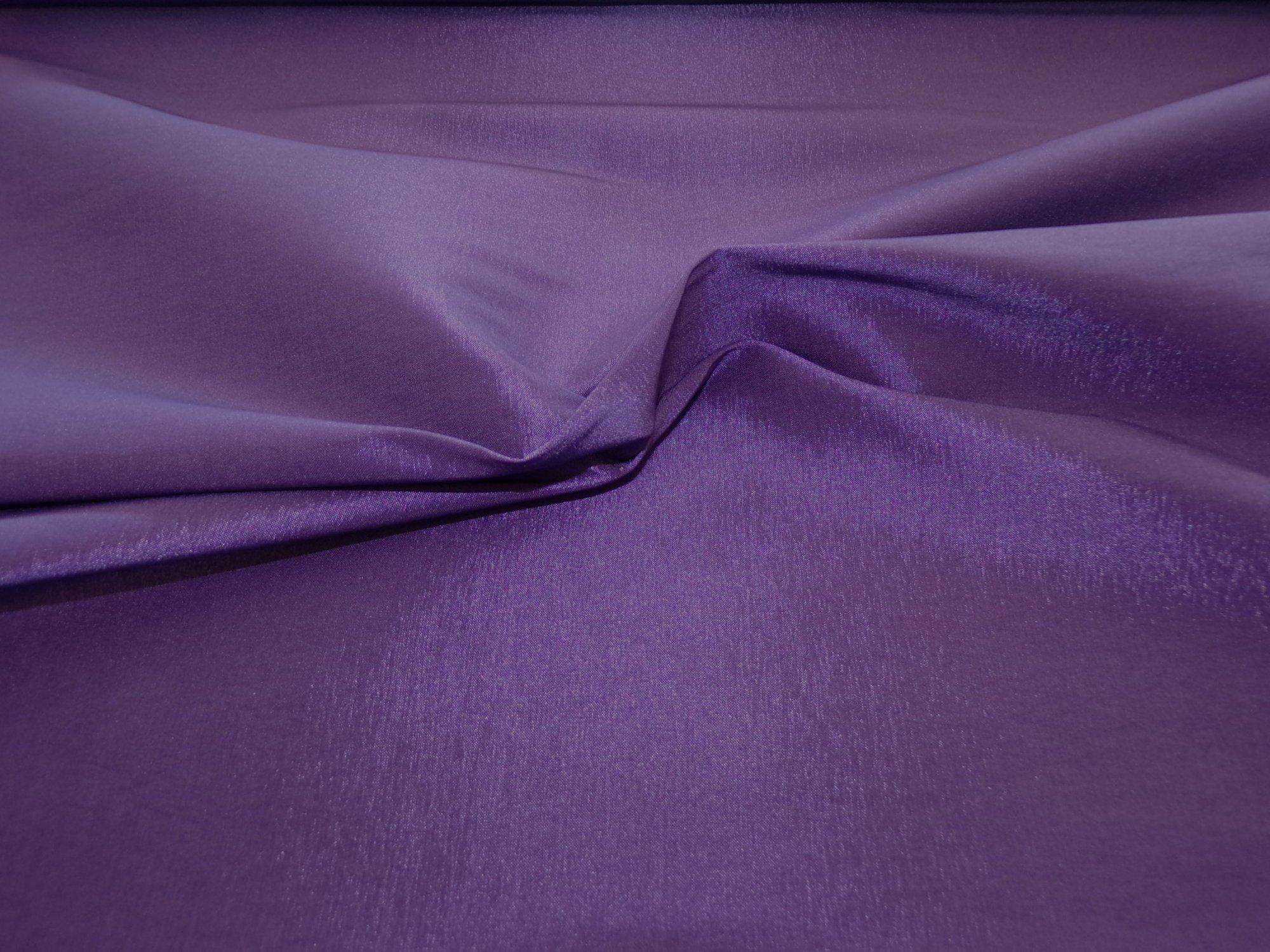 Stretch Taffeta - Dark Purple