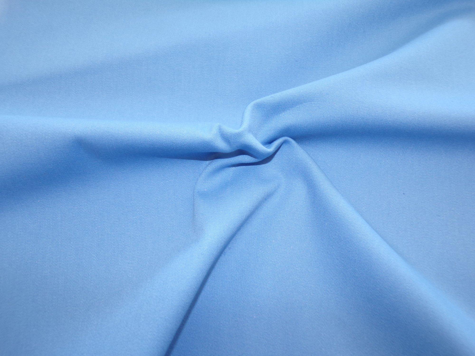 Stretch Twill - Medium Blue