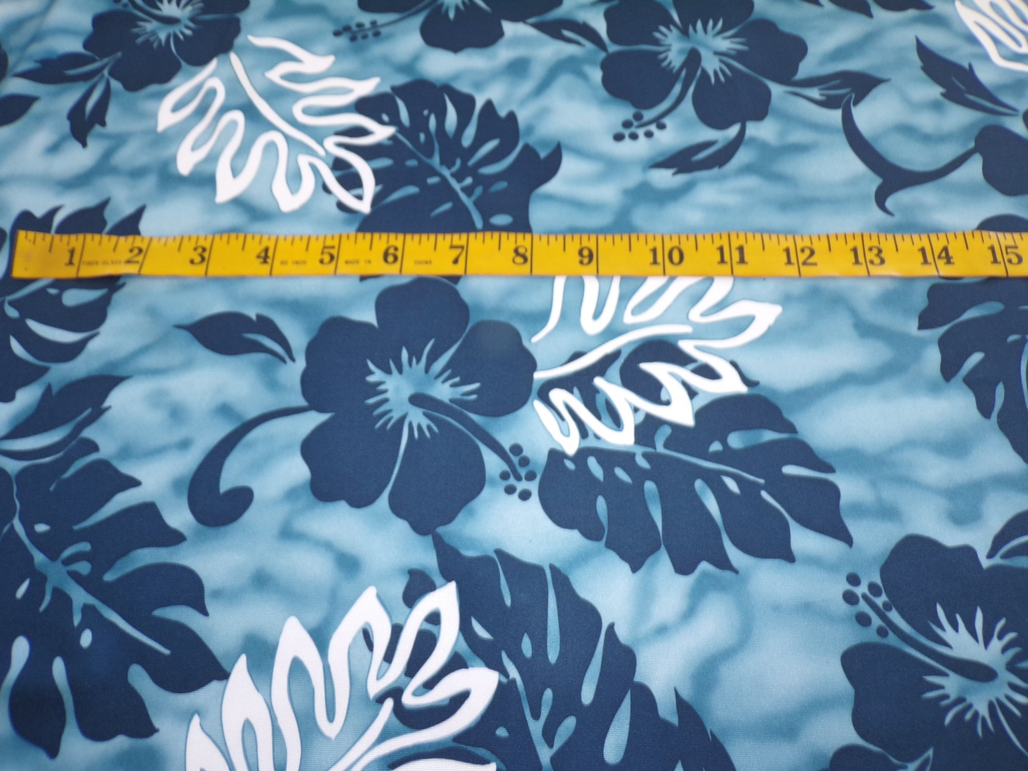 Swimwear - Blue Hawaiian Floral