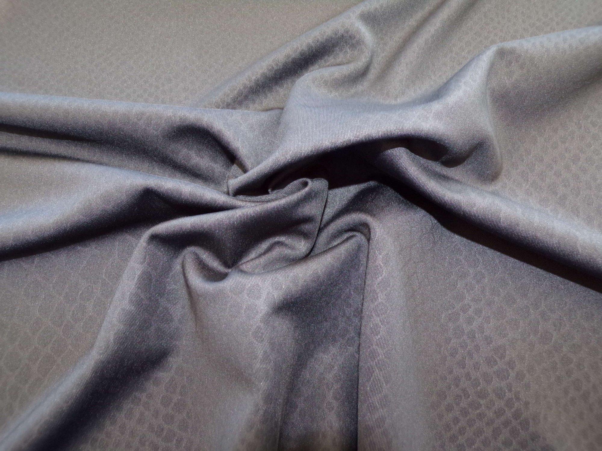 Swimwear - Black Snakeskin Jacquard
