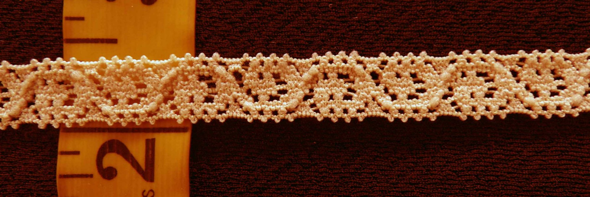 3/8 Tan Stretch lace (TASL038)