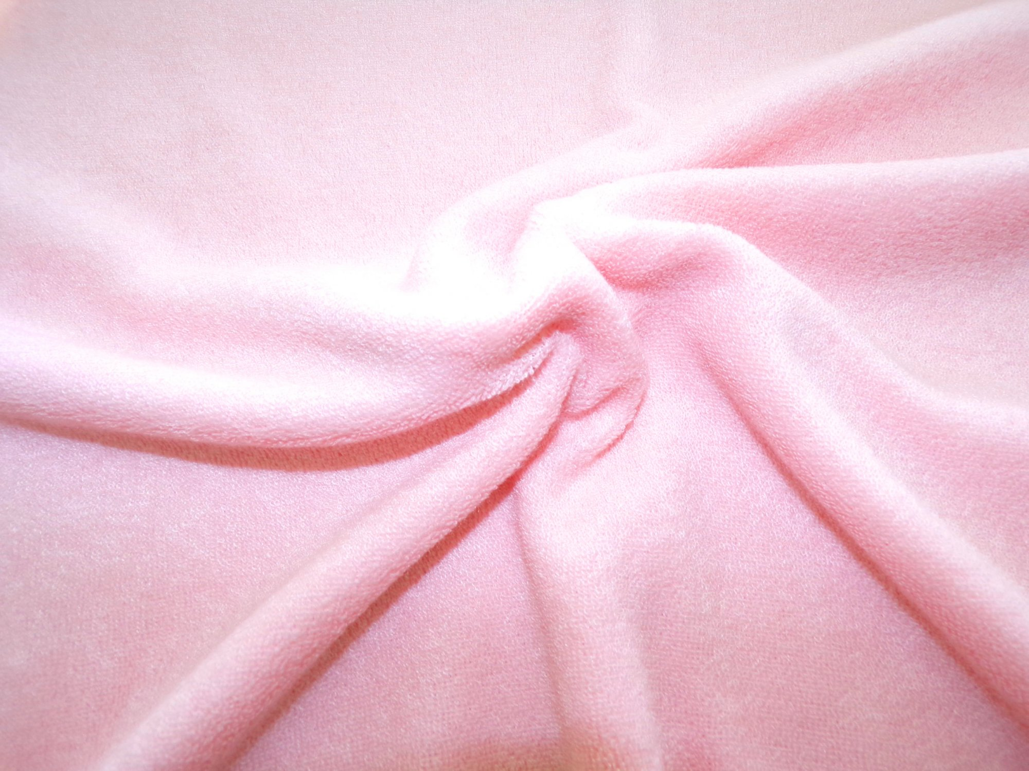 Stretch Terrycloth - Pink