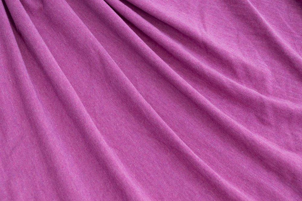 Tencel Lycra Jersey - Heathered Berry