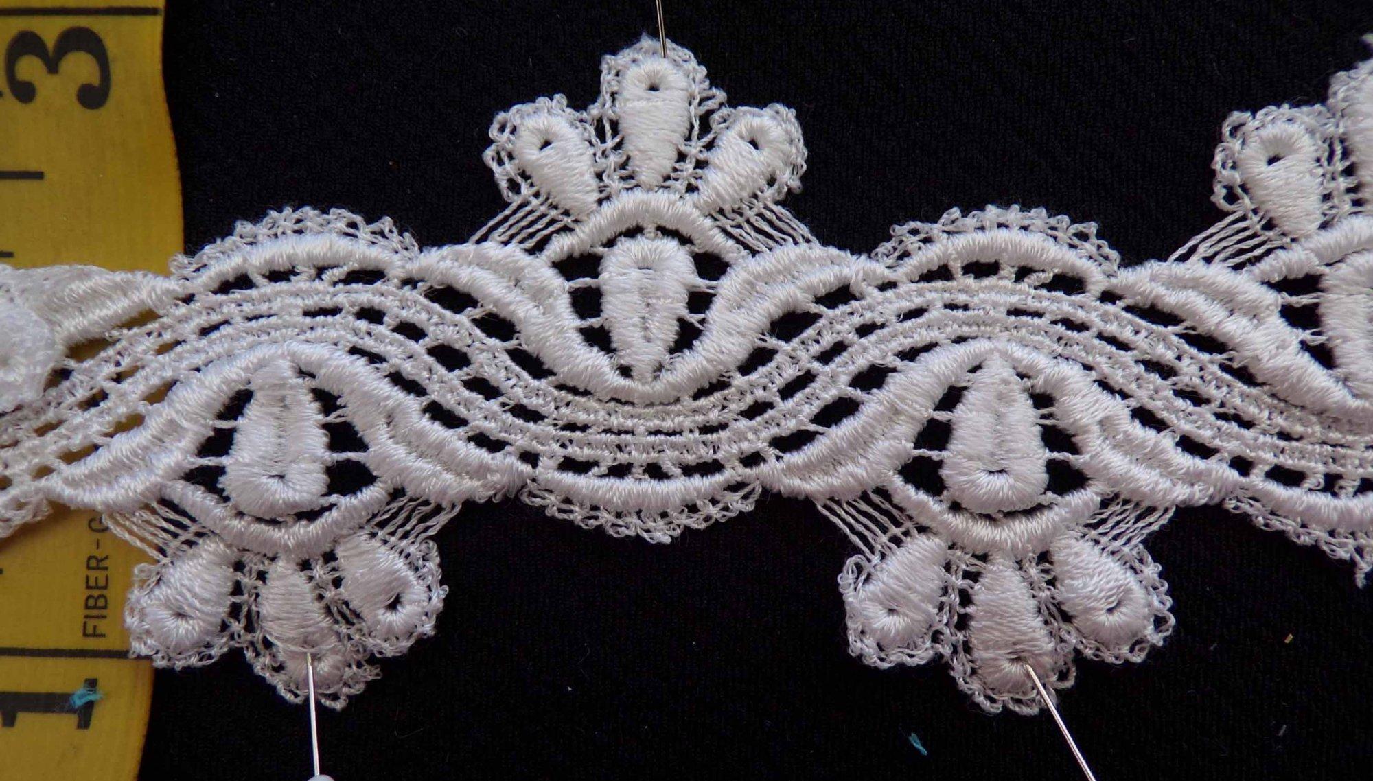 2 1/4 Venice Lace - Ivory