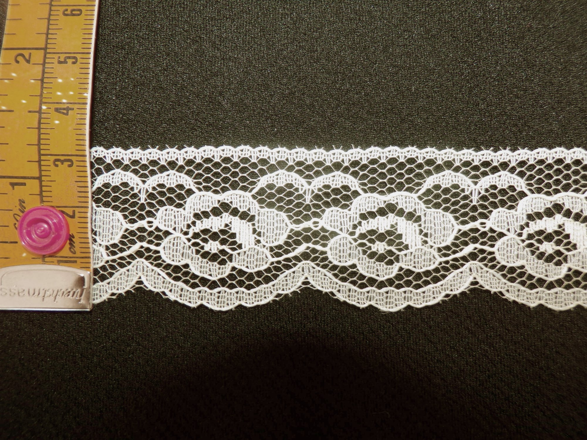 1 1/8 Yellow Rigid Lace (YERL118)