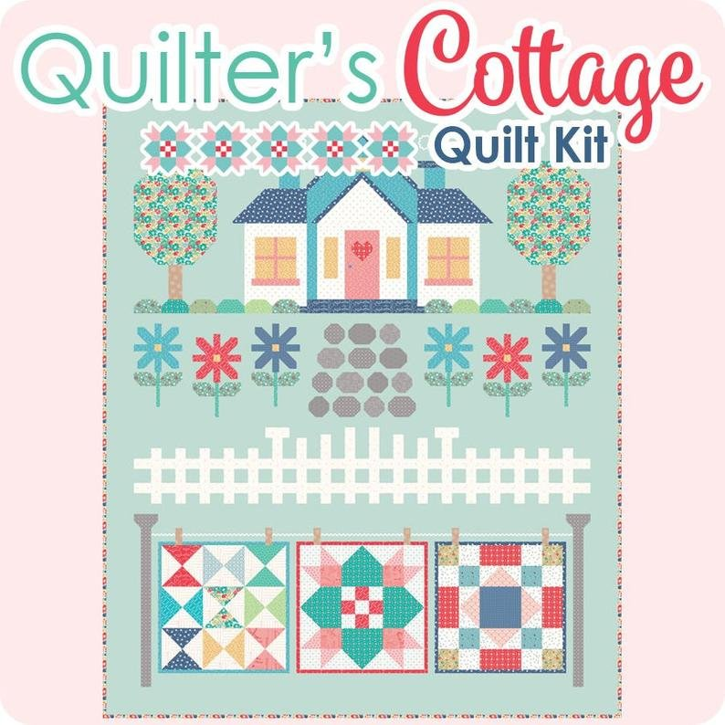Lori Holt's Quilters Cottage Quilt Kit