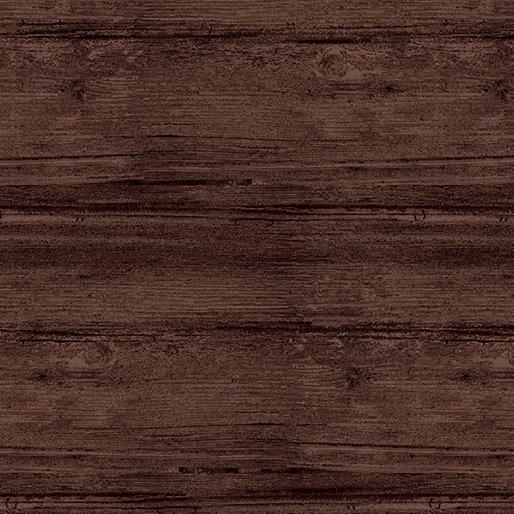 Benartex Washed Wood Wide Espresso 7709W 72