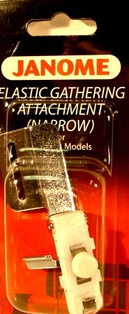 Janome Narrow Elastic Gathering Attachment for Cover Pro