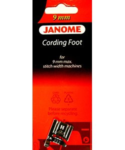 Janome 9mm Cording Foot