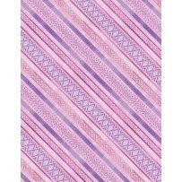 Humming Along Purple Diamond Stripe 1665 33835 636