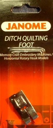 Janome 7 mm Ditch Quilting Foot