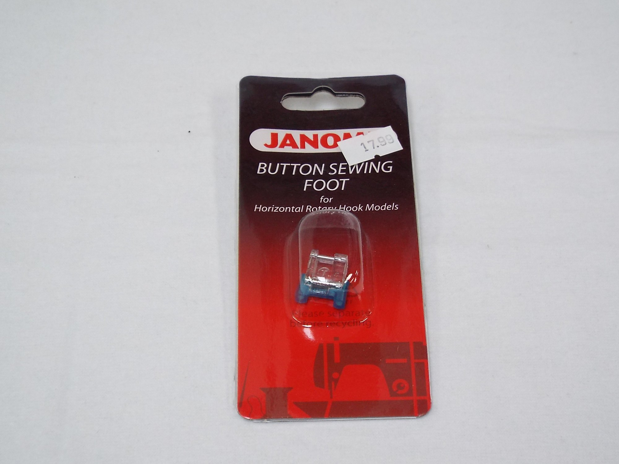 Janome 7 mm Button Sewing Foot