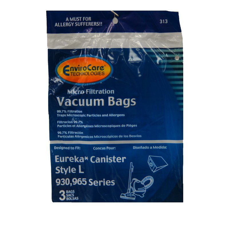 Eureka Style L Bags 3pk