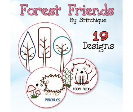 Stitchique Forest Friends