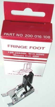 Janome High Shank Fringe Foot