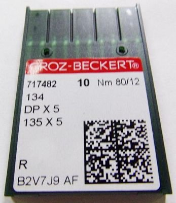 Groz-Beckert needles system 134R sz12 10/pkg