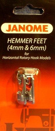Janome 7 mm Hemmer Feet Set