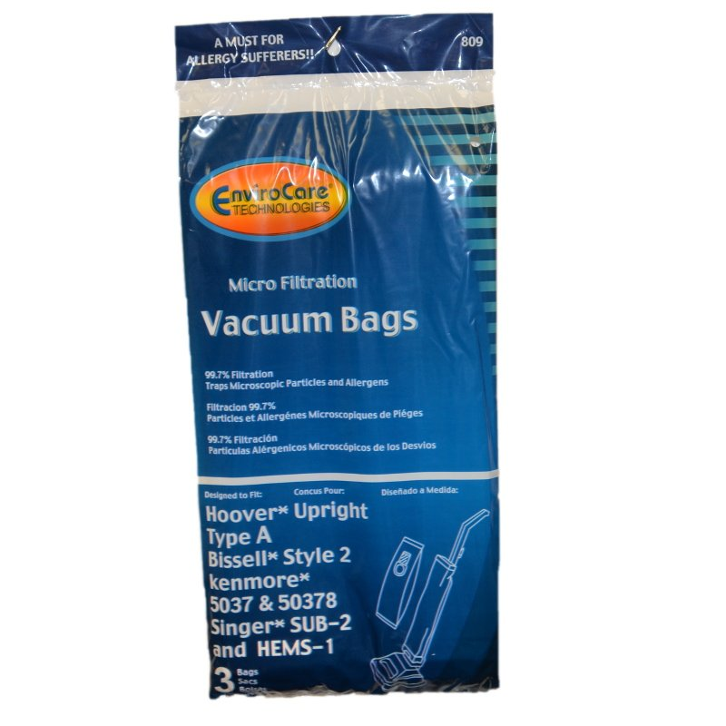 Hoover Style A Bags 3pk