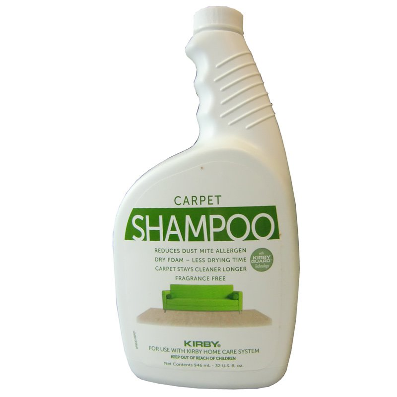 Kirby Carpet Shampoo Unscented 32oz