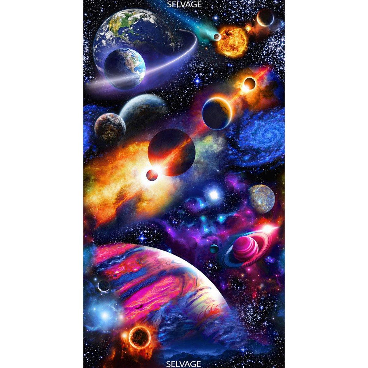 Midnight Bright Solar System Panel #132