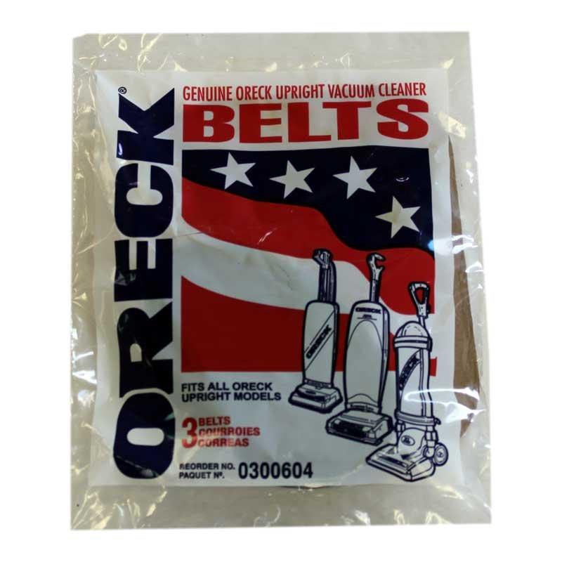 Oreck Upright 3pk Belts