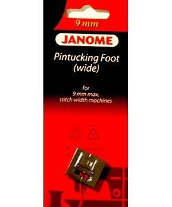 Janome 9 mm Wide Pintucking Foot