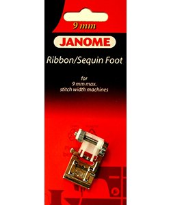 Janome 9 mm Ribbon/Sequin Foot