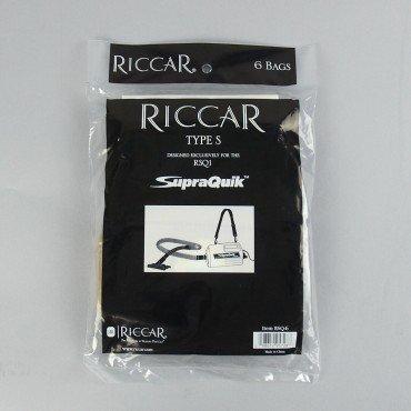 Riccar Type S Paper Bags 6pk