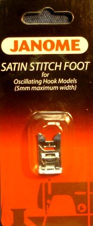 Janome 5 mm Satin Stitch Foot
