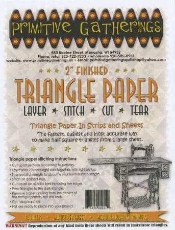 2 Half Square Triangle Paper