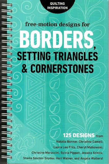 Free Motion Designs for Borders, Setting Triangles & Cornerstones