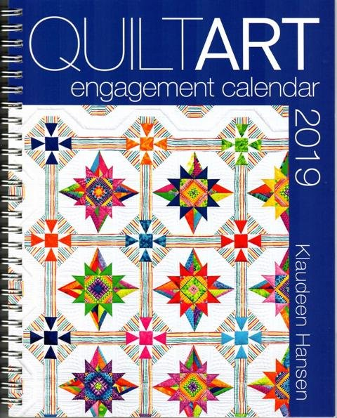 Quilt Art Engagement Calendar 2019