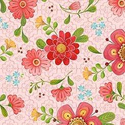 All A Flutter Floral - PINK