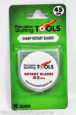 Precision Quilting Tools Sharp Rotary Blades 60mm