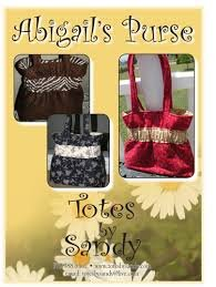 Abigail's Purse Pattern- Totes by Sandy