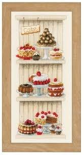 Vervaco- Sweet Treats on Shelf Cross-Stitch