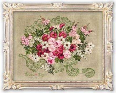 Wedding Bouquet Cross-Stitch Riolis