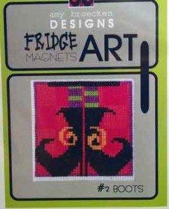 Fridge Art Magnet - Boots