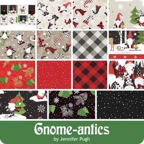 Gnome Antics 10 Squares 42 Pieces